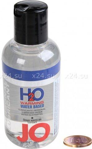 Любрикант на водной основе с разогревающим эффектом JO H2O Warming 135 мл
