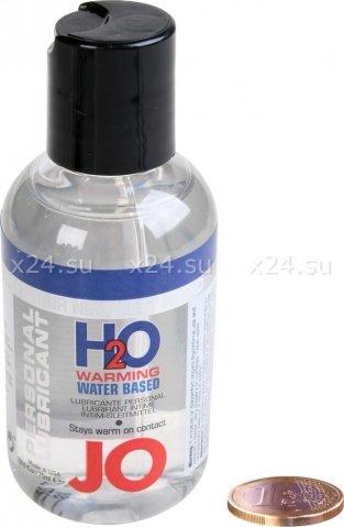 Любрикант на водной основе с разогревающим эффектом JO H2O Warming 75 мл