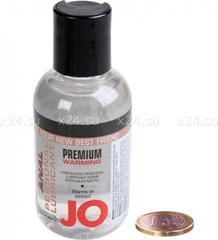 Анальный любрикант на силиконовой основе с разогревающим эффектом JO Anal Premium Warming 75 мл