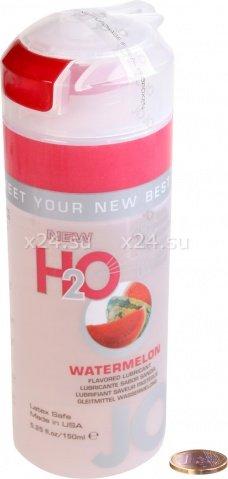 Съедобный любрикант со вкусом арбуза JO H2O Lubricant Watermelon 150 мл