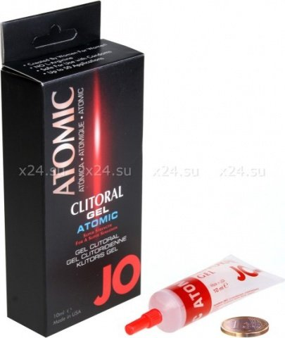 Клиторальный гель JO Clitoral Stimulation Gel Atomic 10 мл