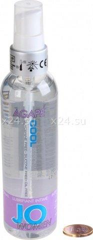 Любрикант на водной основе для женщин с охлаждающим эффектом /JO H20 for Women Agape Cool 120 мл