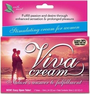 Мл (3 тюбика) крем `vivacream` стимулирующий для женщин
