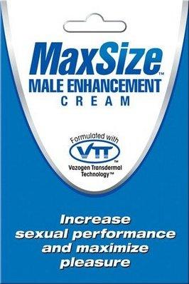 Мл крем `maxsize` для улучшения мужской эрекции