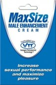 Мл крем `maxsize` для улучшения мужской эрекции - Секс-шоп Мир Оргазма