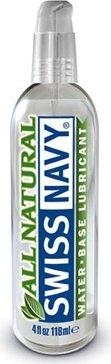 Oz118 мл лубрикант `all natural` swiss navy гипоаллергенный
