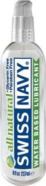 Oz /237 мл. лубрикант `all natural` swiss navy гипоаллергенный