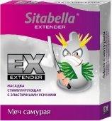 Купить презервативы. Насадка стимулирующая меч самурая 1/12 упак. Секс шоп online.