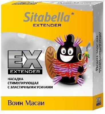 Насадка стимулирующая sitabella extender воин масай 1/12 упак