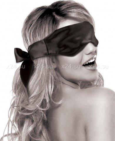 Атласная маска на глаза Satin Blindfold