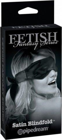 Атласная маска на глаза Satin Blindfold, фото 3
