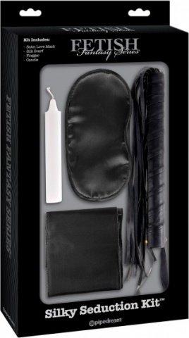 Фетиш набор для игр Silky Seduction Kit