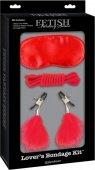 Секс-набор для фетиша Lover's Bondage Kit - Секс-шоп Мир Оргазма