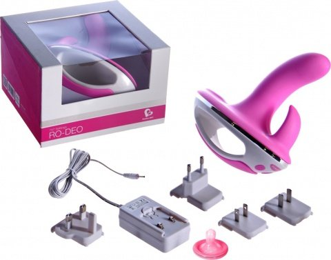 Клиторально-вагинальный вибратор RO-DEO (7 режимов), фото 2