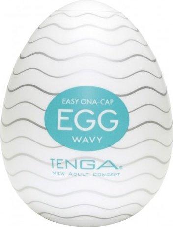 Мастурбатор tenga egg wavy - оригинал