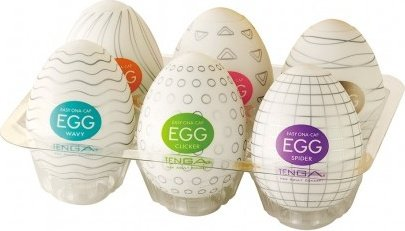 Набор стимуляторов Tenga eggs