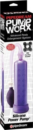 Pw silicone power pump purple