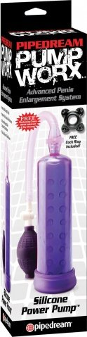 Pw silicone power pump purple, фото 3