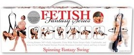 ����-������ ��������������� �� ����� Fetish Fantasy Series Spinning Fantasy Swing - Black ������