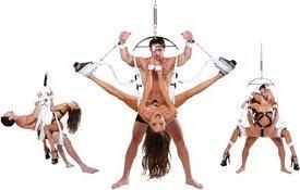 секс-качели ff fantasy bondage swing - white, фото 3