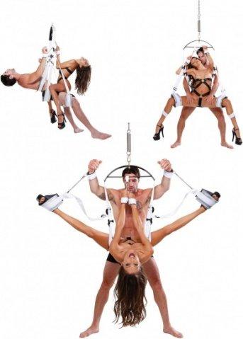 секс-качели ff fantasy bondage swing - white, фото 4