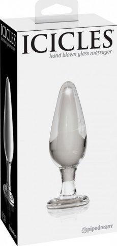 Анальный стимулятор icicles 26 из стекла
