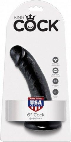 Cock 6 inch black, фото 2