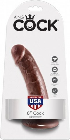 Cock 6 inch brown, ���� 2