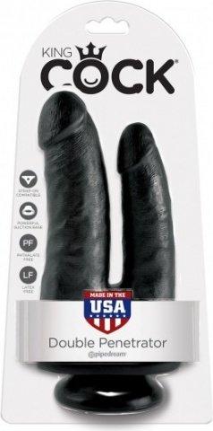 Cock double penetrator black, фото 2