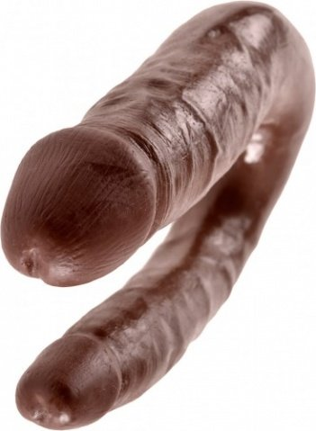 Cock double trouble s brown