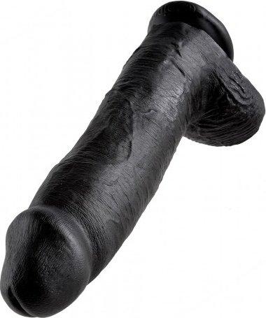 Cock 12 inch w/ balls black