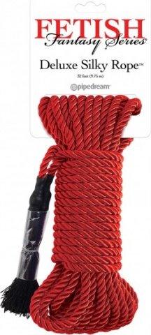 Deluxe Silky Rope веревка для фиксации красная, фото 2