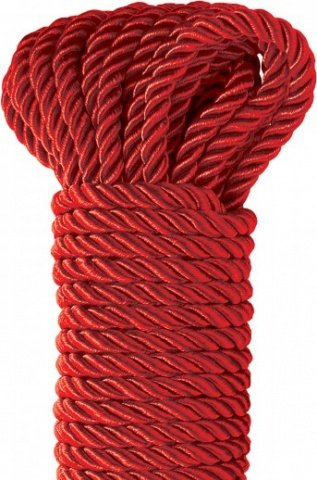 Deluxe Silky Rope веревка для фиксации красная, фото 3
