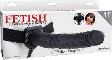 Hollow Strap-On Фаллопротез мужской полый 10 см, фото 2