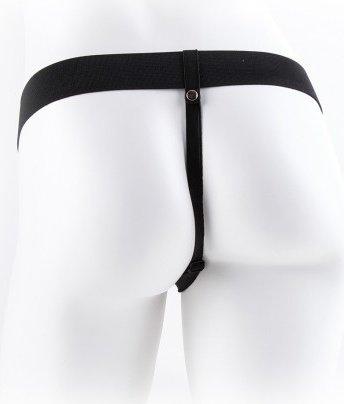 Vibr strap-on w balls 11'' black, фото 5