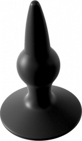 Анальный стимулятор Anal Fantasy Collection Silicone Starter Plug черный, фото 3