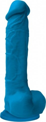 Colours pleasure dildo 8inch blue