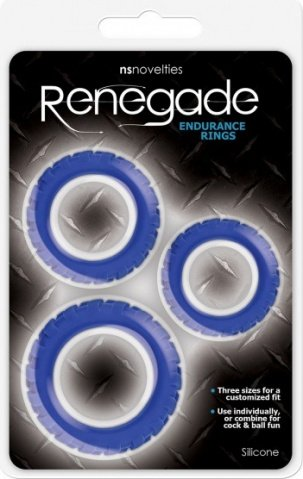 Endurance rings blue, фото 2