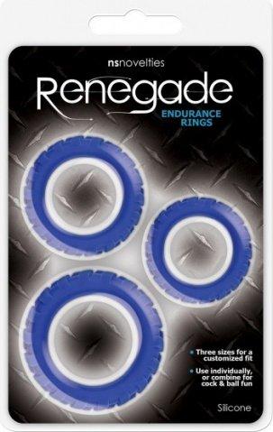Endurance rings blue, фото 2