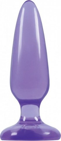 Анальная пробка малая Jelly Rancher Pleasure Plug - Small- Purple
