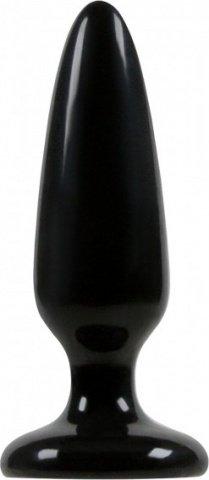 Анальная пробка малая Jelly Rancher Pleasure Plug - Small - Black