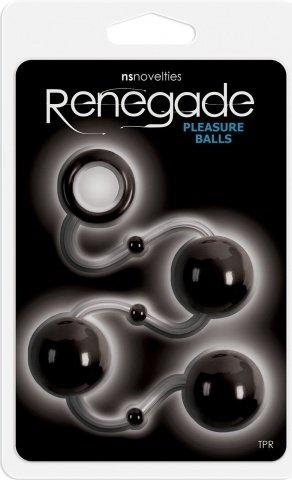 Анальные шарики Renegade Pleasure Balls, фото 2