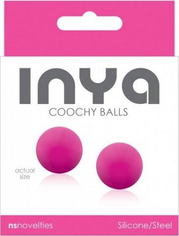 Вагинальные шарики inya - coochy balls - pink, фото 2