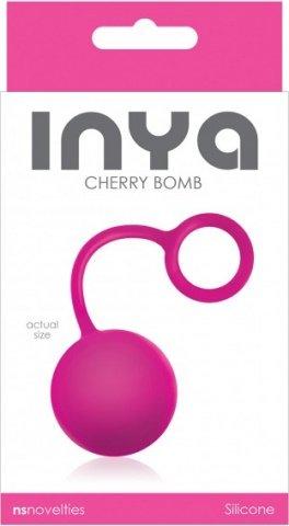 Вагинальный шарик inya - cherry bomb - pink, фото 2