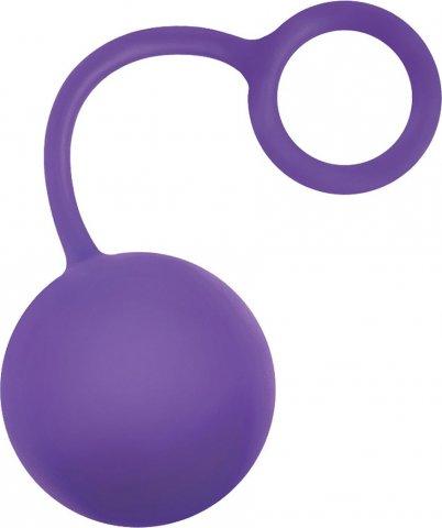 Вагинальный шарик inya - cherry bomb - purple