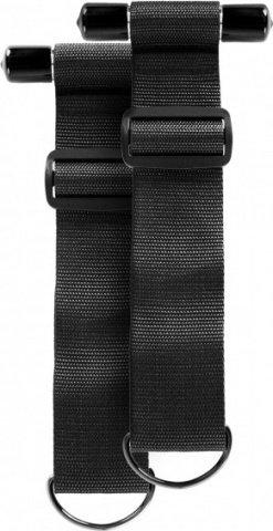 Sinful door restraint straps black