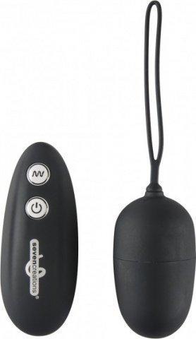 Remote control vibr. egg 7f black