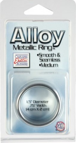 Alloy metallic ring - medium, фото 4