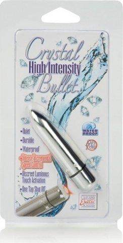 вибропуля с кристаллами high intensity silver 0075-60cdse, фото 3