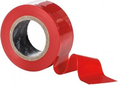 Скотч - лента красная (2,5 см ширина, 15 м длина) Scandal Lovers Tape - Red